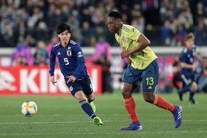 everton sweating on fitness of key defender after limping out of colombia defeat