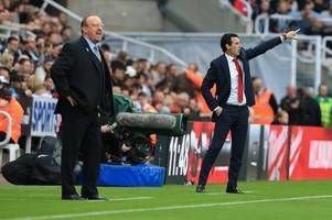 the five players unai emery and rafa benitez will be sweating on ahead of arsenal vs newcastle