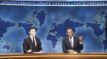SNL Weekend Update Hosts Colin Jost, Michael Che Will Compete At WrestleMania