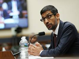 google ceo sundar pichai will reportedly meet with a top us military official in washington to discuss the company's ai efforts in china (goog, googl)