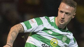griffiths to return to celtic training after four-month absence