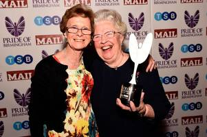 rosemary cox wins lifetime achievement award at pride of birmingham 2019