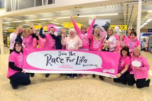 the 18th cleethorpes race for life needs men - and you don't have to be in pink