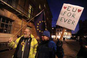 cambridge says 'no to brexit' at rally this friday