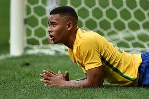 gabriel jesus brace hands brazil 3-1 win in czech republic