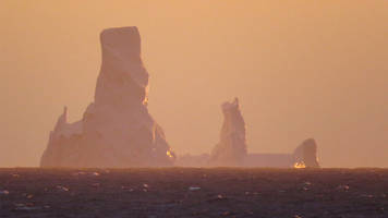 climate change: drilling in 'iceberg alley'