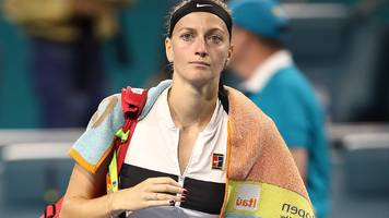 kvitova misses chance to become world number one by losing to barty in miami open