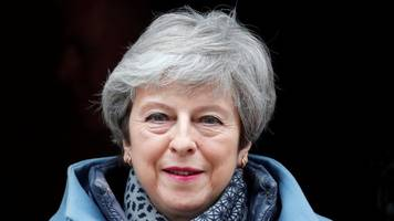 uk pm may vows to quit once deal is passed