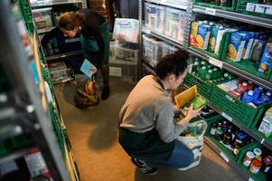 foodbank used by almost 1,000 people - including 329 children