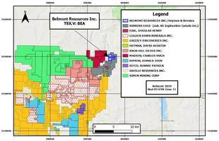 belmont acquires b.c. gold prospect in historic republic-greenwood gold district