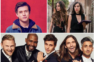 glaad media awards: 'love, simon,' 'queer eye,' 'vida' take top prizes