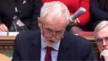 brexit vote: jeremy corbyn calls for theresa may to go