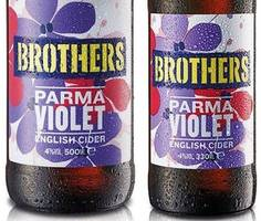 brothers have created a parma violet flavoured cider