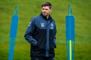 rangers squad revealed as key players return ahead of celtic trip