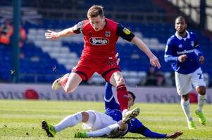 oldham athletic 2-0 grimsby town result as winless run continues for mariners