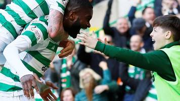 celtic 2-1 rangers: edouard shines on derby day again