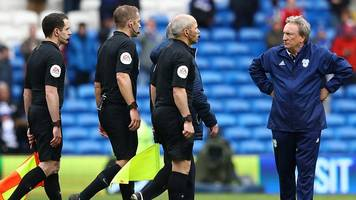 cardiff 1-2 chelsea: premier league best in world but probably worst officials - neil warnock