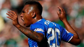 gerrard 'can't defend morelos any more' after season's fifth red card