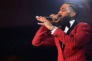 rapper nipsey hussle shot dead aged 33 as rihanna, drake and ice cube pay tribute