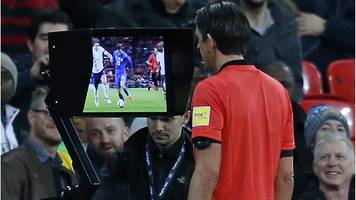 fa cup: var replays to be shown on big screen during semi-finals if decision overturned
