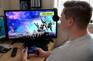 doctor writes 'prescription' banning boy gamer from fortnite and minecraft for 14 days