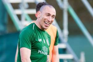 5 things we noticed at celtic training as scott brown laughs off derby controversy