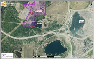 pelangio exploration commences airborne survey on dalton property and completes access agreement on dome west property