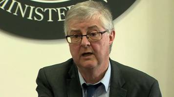 brexit: wales' first minister mark drakeford meets pm for talks