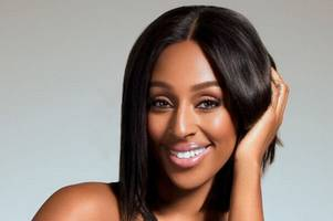 x factor star alexandra burke expects to be watching nottingham forest at the city ground - in june