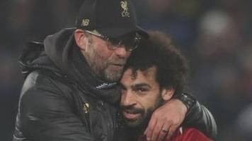 salah not bothered by lack of goals - klopp