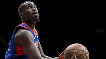 watch: theo pinson drills last-second three for long island nets to clinch spot in g-league finals