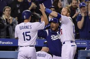 freese, dodgers rally in 7th for 5-3 victory over giants