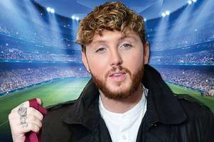 x factor star james arthur and calum best lined up for charity football match in walsall