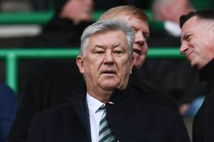 'this stops now' celtic chief peter lawwell issues warning after pyro incident