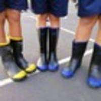 gumboot friday: kiwis ditch shoes in favour of gumboots in support of kids' mental health