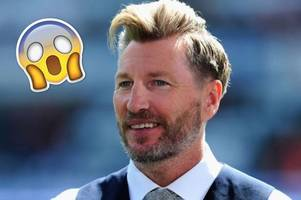 robbie savage reveals what was in his pasty - and it may shock you