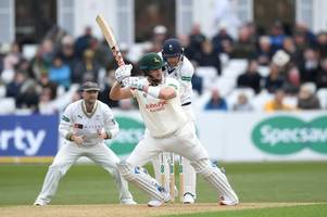 joe clarke 'couldn't ask for any more' after century for nottinghamshire against yorkshire
