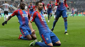 milivojevic's penalty gives palace victory at newcastle