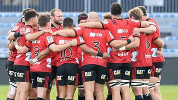 crusaders win in first home super rugby match since christchurch shootings