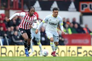 brentford fan arrested for alleged 'racially aggravated offence' against derby county player
