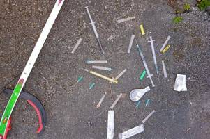 residents left 'disgusted' by needles left outside clifton church hall used by children