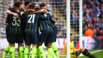 man city reach fa cup final with narrow win over brighton