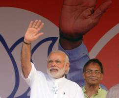 for india's modi, symbolism is political strategy