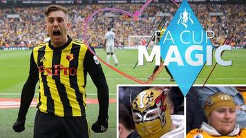 fa cup magic: manchester city 1-0 brighton & watford 3-2 wolves