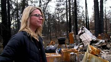 paradise fire survivors: 'losing everything has made me stronger'