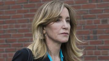 college admissions scandal: felicity huffman to plead guilty