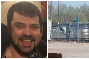 body found in search for missing man matthew harris, 36, at former football ground