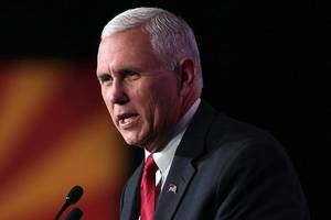 Trump doing his job to secure US-Mexico border, says Mike Pence