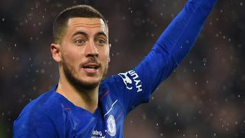 'if eden wants another experience it's very difficult to keep him' - sarri on hazard future