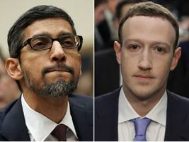 facebook and google will be grilled by congress today on white nationalism as they struggle to silence hate speech